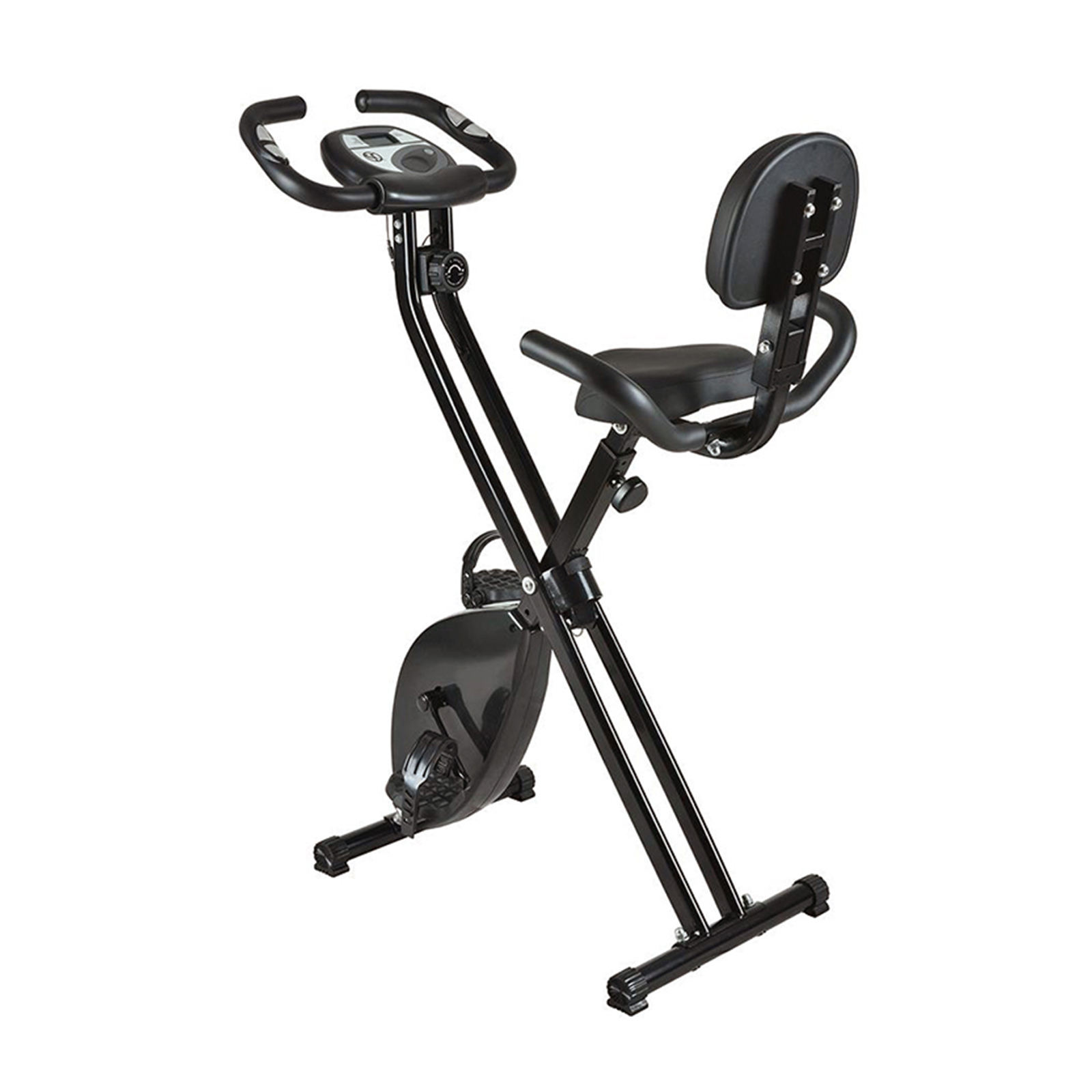 Folding Magnetic Fitness Exercise Bike Recumbent Fitness Bike Exercise Indoor Stationary X Bike With High Quality