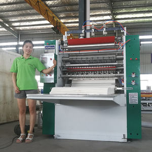 Manufacturing Machine N Folding Hand Towel Interfold Facial Tissue Paper Making Machine Price