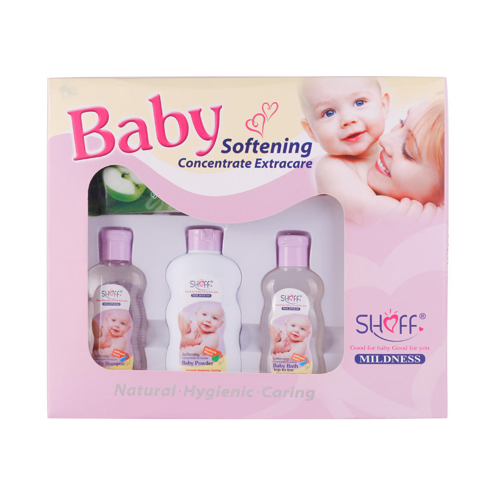 SHOFF cool and touch 6pcs shampoo set Baby Bath Gift Box