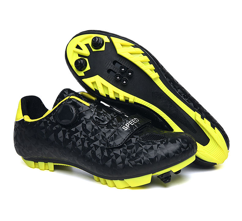 aidesi 2020 Wholesale High Quality Boodun Reflective Bike Cycling Sports Shoes MTB Road Lock Riding Shoes Factory price