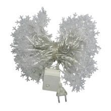 Christmas Tree Ornament Snowflake Light String outdoor Waterproof  Christmas Decoration Light