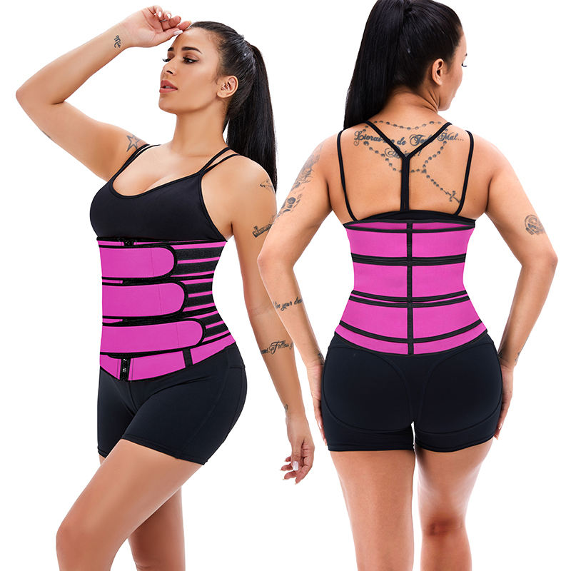 Top Verkoper 2021 Workout Bands Hot Koop Comfortabele Plus Size Rose Red Body Shaper Wais Rugsteun Vrouwen Strap Corset riem