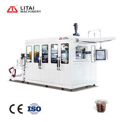 Factory Price Plastic Cup Tea Glass Forming Making Machine