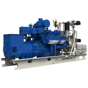 Clean energy 600kw LNG gas generator with engine