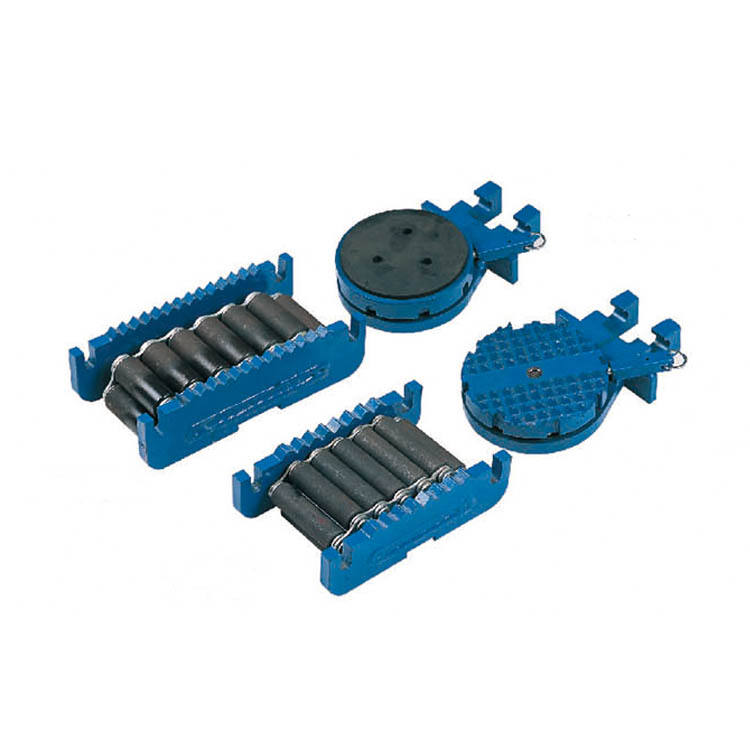 AQ-Q 3T Steerable Heavy Machine Moving Rollers Skates Directional Steerable Load Moving Skates