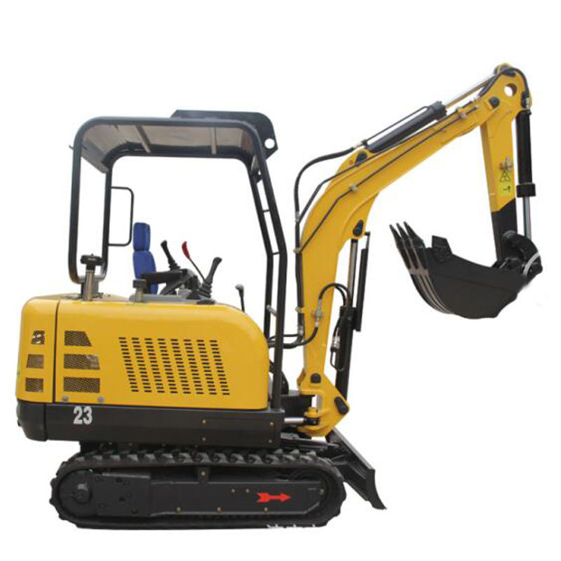 Cheap crawler excavadeiras mining digger machine 2.2t mini excavator in auto digging machine