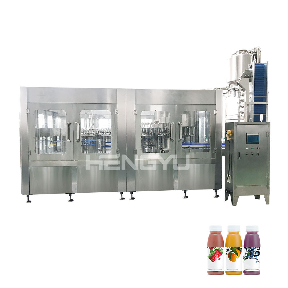 Juice processing plant banana juice making machine coconut water bottling plant