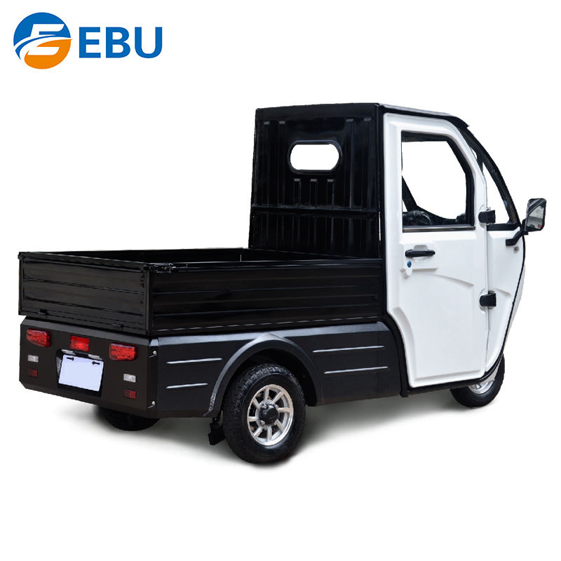 EBU China Cheap 3 Wheel Food Trike Delivery Tricycle Cargo Tricycle For Sale