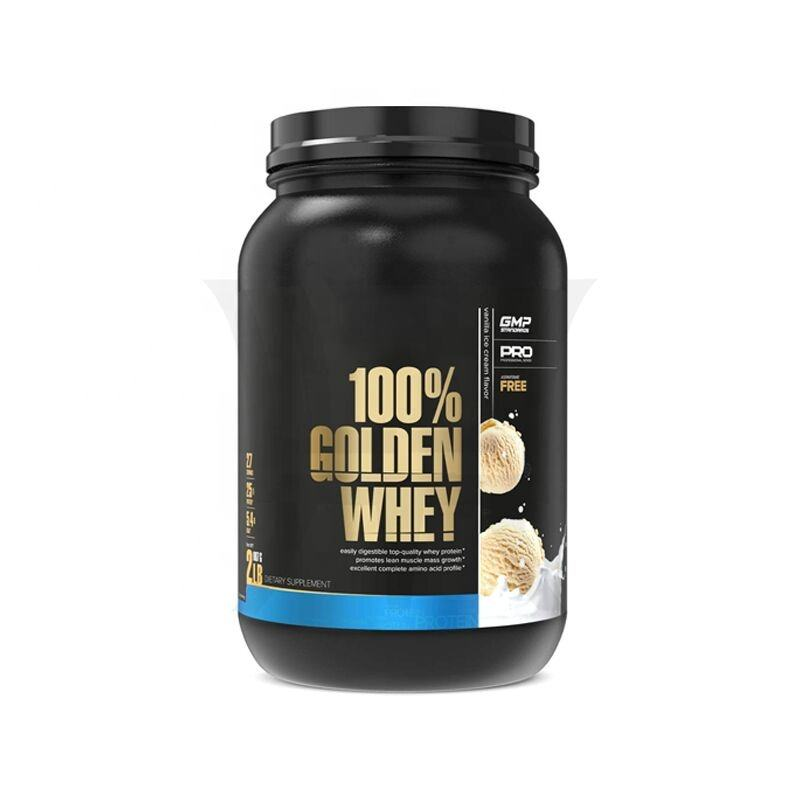 100% Golden Whey Protein 25g of Premium Whey Protein Powder per Serving Whey Hydrolysate Isolate & Concentrate Blend