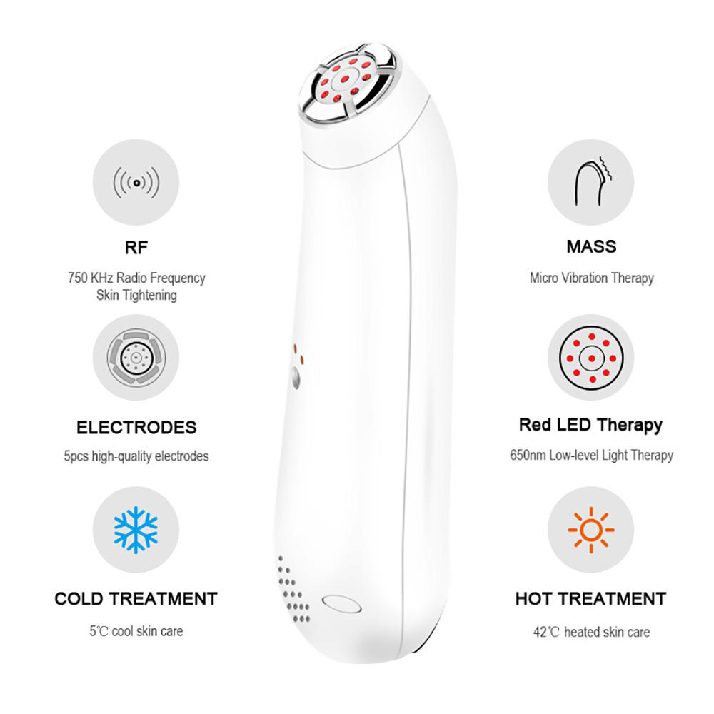 SUNMAS Face Wrinkle Remover Rf Skin Care Wrinkle Home Use Skin Tightening Device Massage Machine