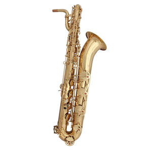 Low A key Eb tone baritone saxophone professional saxophone with case