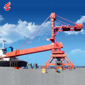 500t/h continuous ship loader