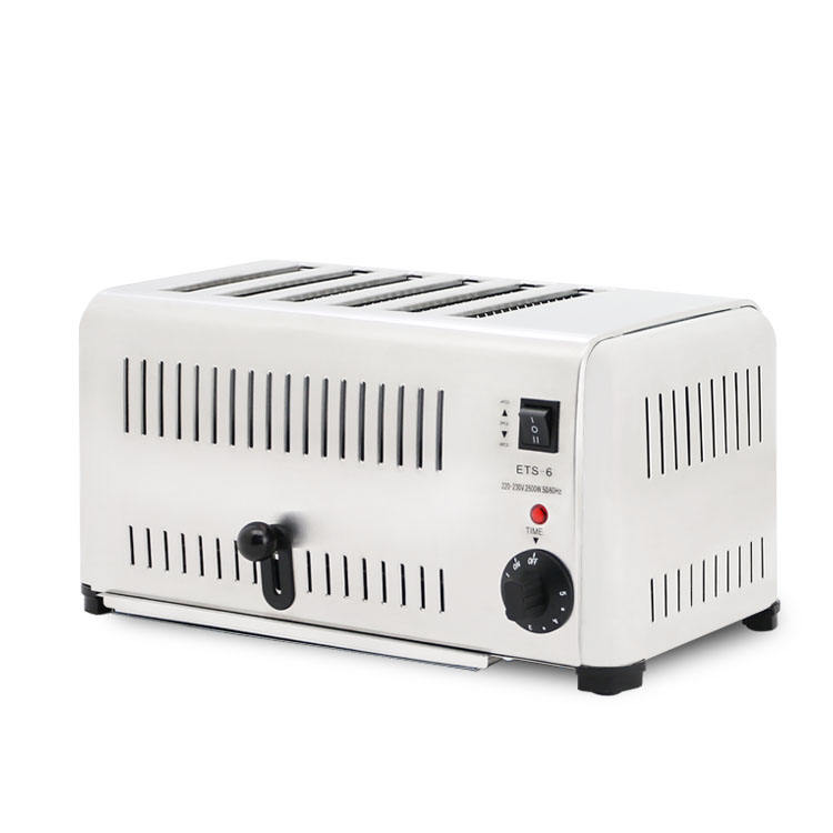 Industrial electric 6 slicer toaster for sale