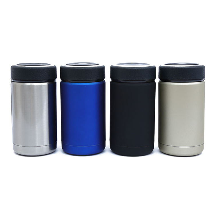 Drinkware vacuum flask Thermal Travel Coffee Mug with Stainless Steel Strainer ONEISALL 12oz Insulated Vacuum Flask food thermos