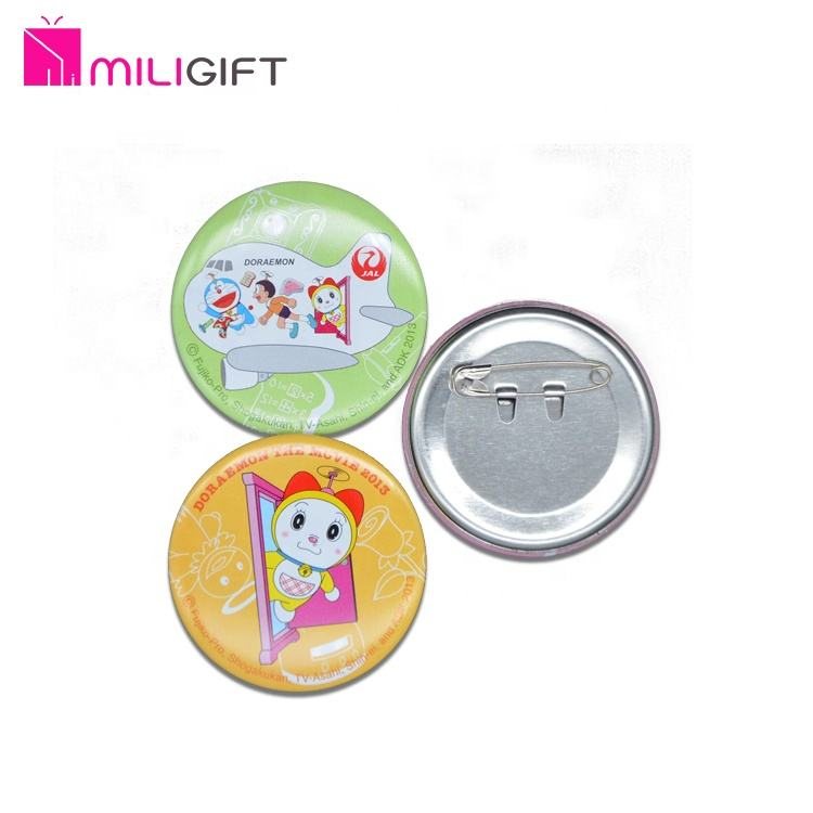 Cartoon Cute Designs Customized flower badge Round Pin Badge