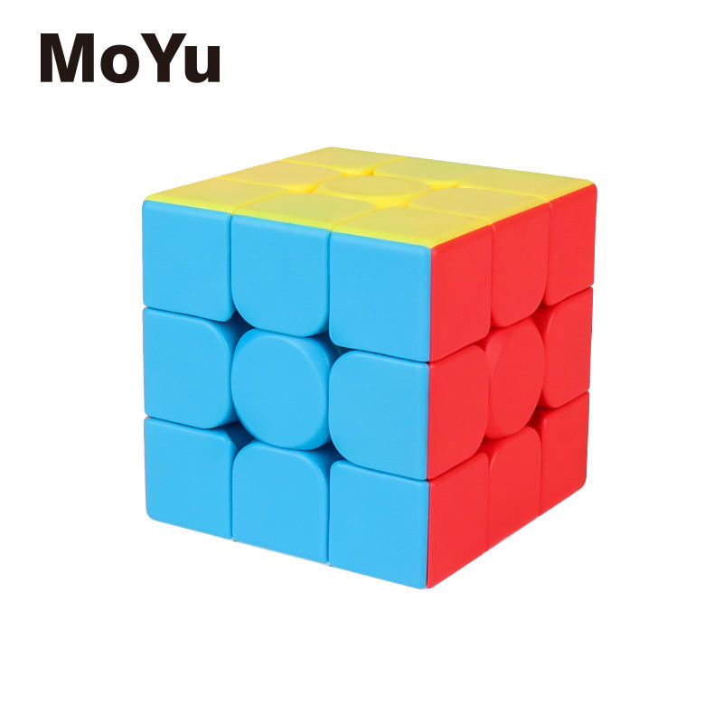 New moyu Mofangjiaoshi Meilong 3C 3x3x3 magic cube stickerless 3x3 speed cubo magico educational toys Game