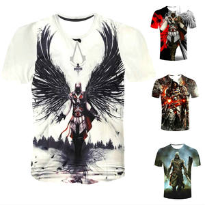 Designer T-shirt Fashion Unisex Casual Short Sleeves Round Collar Cartoon T Shirts Custom 3D Printing T-shirts