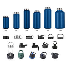 Factory Supply bpa free water bottle Insulated water bottle with straw double wall stainless steel sport water bottle