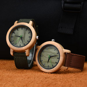 Low MOQ Make Custom Wooden Case for Men And Women Wood Watches