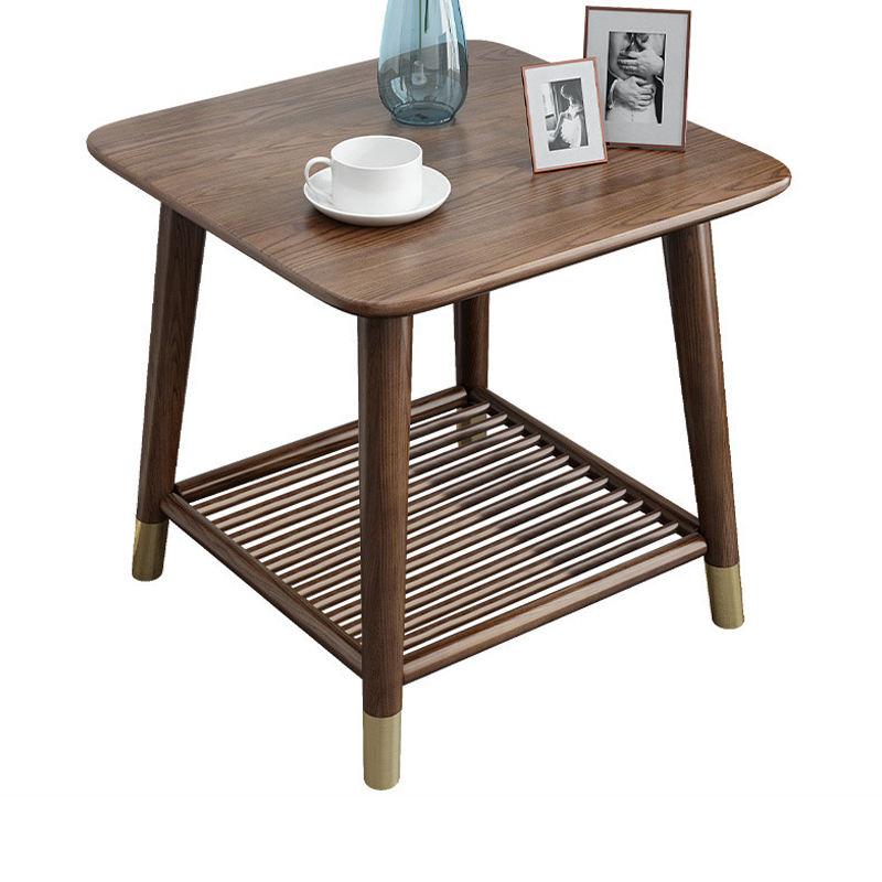 Extraíble de madera maciza de roble lado <span class=keywords><strong>Oriental</strong></span> mesas Natural Antik mesa de café de madera