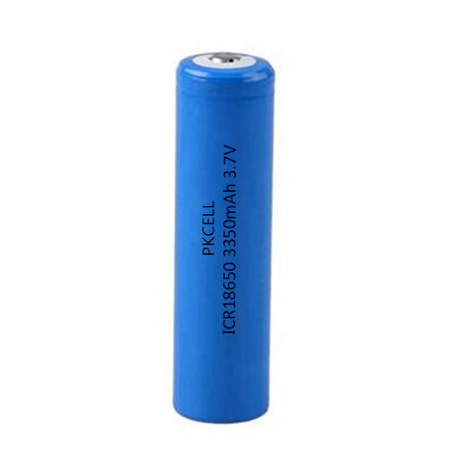 PKCELL 3.7V lithium ion cells Primary Cylindrical 18650 3000mah 3400mah for Car alarm system CASH REGISTER