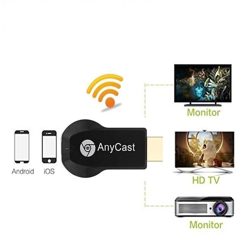 2.4g Mirascreen WiFi 디스플레이 동글 anycast Airplay DLNA iOS 안드로이드