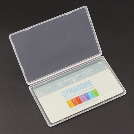 Customized Acrylic Hot Sale Clear Card Holder Plastic Sim Card Case Business Card Case