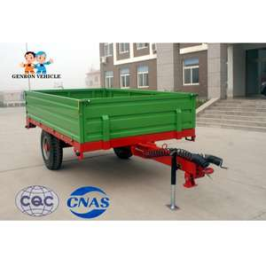 Reliable quality high efficiency multy function farm tractor tipping trailer used for agricultural farming projects