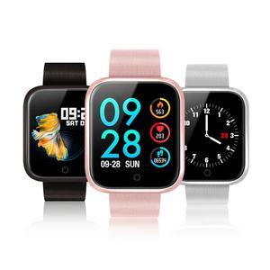 2019 Hot Selling Color Screen P70 Smart Watch with Blood Pressure and Heart Rate Monitor Smartwatch for Women and Man