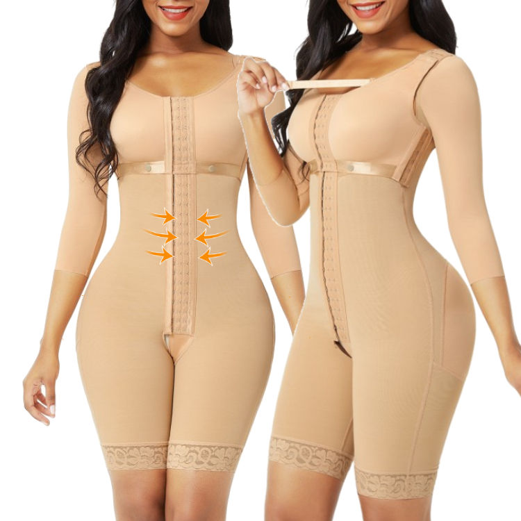 New Design Breathable Fat Tummy Trimmer Control Compression Body Shaper Shapewear For Women