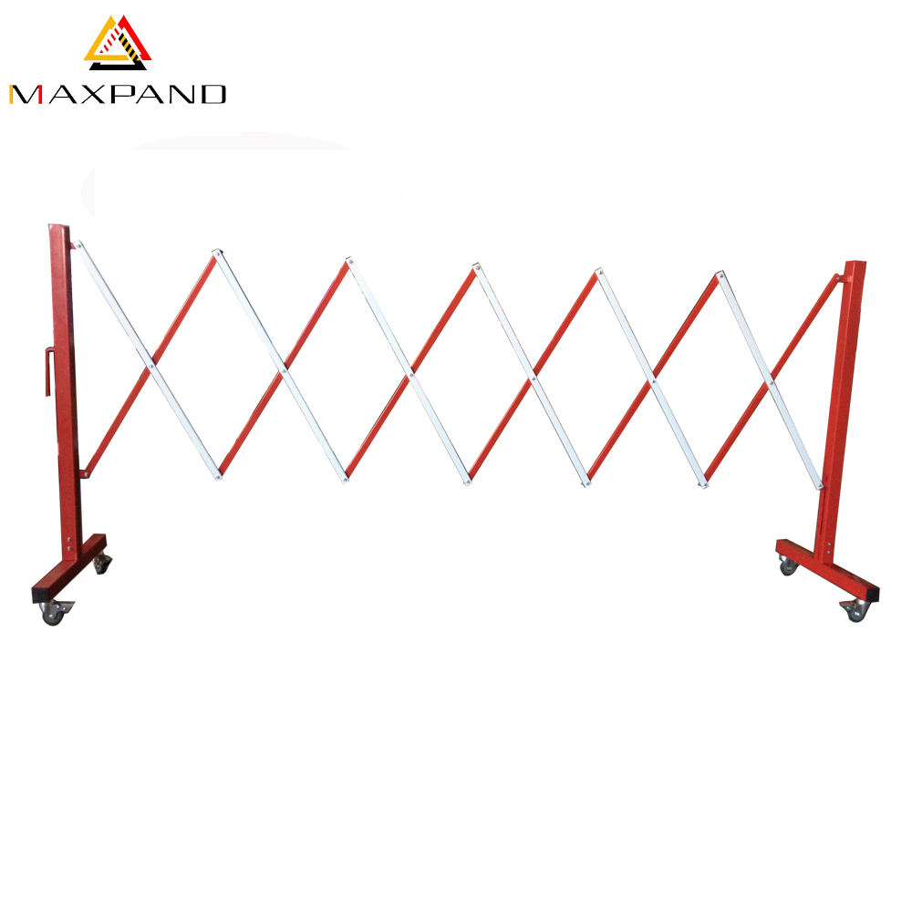 Temporary Parking Crowd Control Outdoor Retractab Stand Road Safety Products Traffic Portable Folding Expandable Barrier