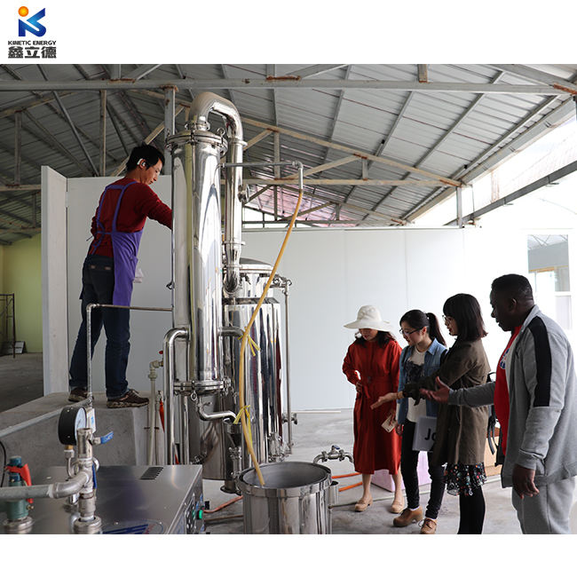 1000L Lemongrass oil extraction plant essential oil extraction equipment rose water distillation machine