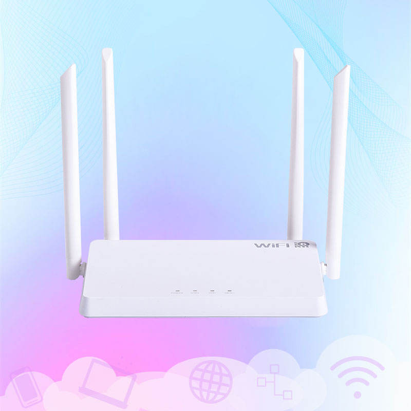 New Products 1800Mbps 2.4Ghz 5Ghz Dual Band Gigabit 4 Antennas Wireless Wifi 6 Mesh Routers Wifi Router