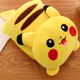 2 in 1 Cartoon Pikachu Bolster Soft Summer Quilt Useful Animal Plush Toy Pillows