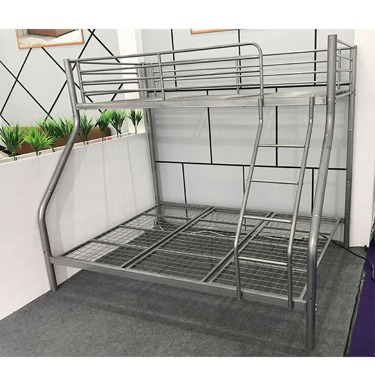 Little Boy Bunk Beds Loaf Bed Low Price Mesh Metal Replacement Parts Frame Commercial Military Pipe White