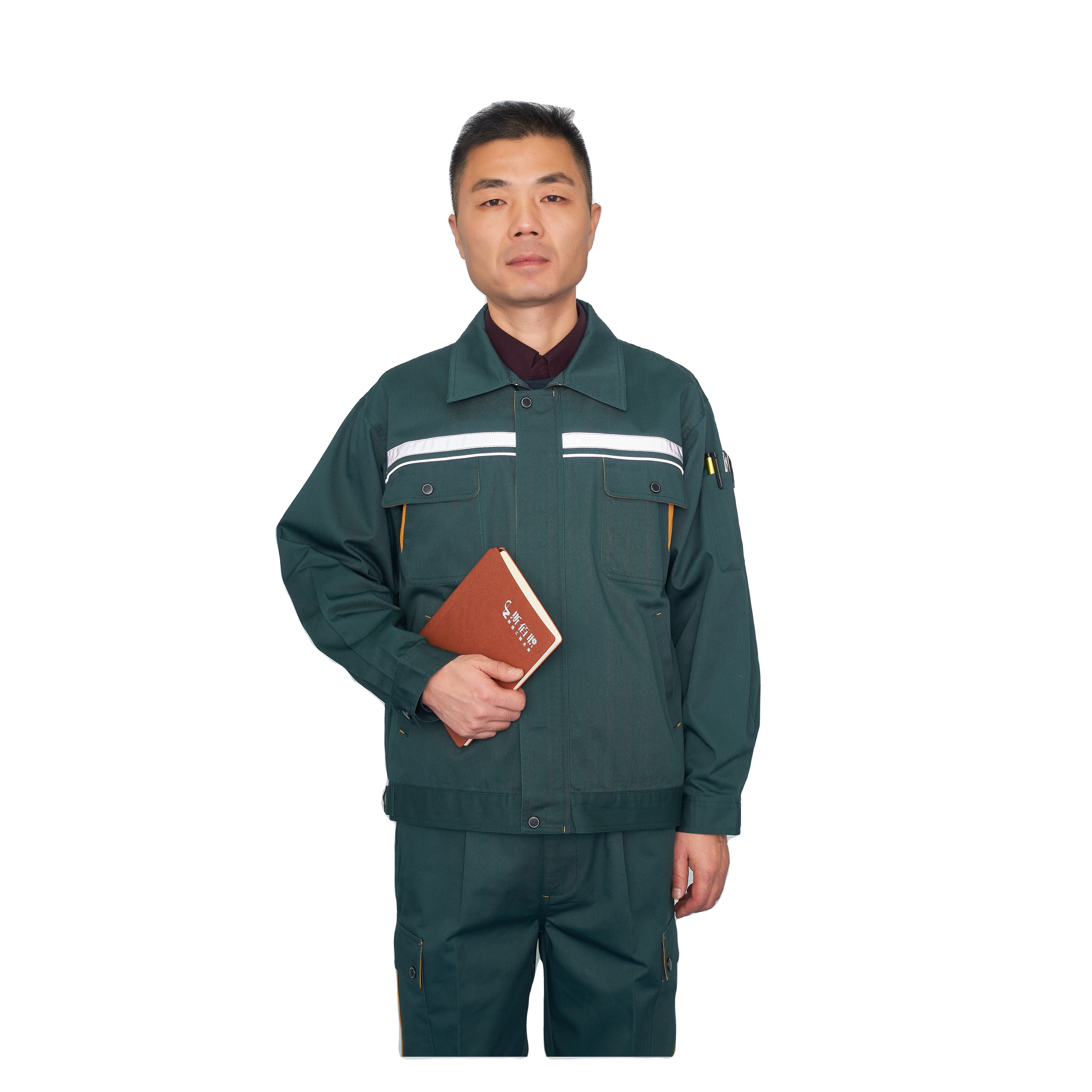 wholesal unisex auto repair workwear construction uniforms work clothes mechanic made in China overalls with logo