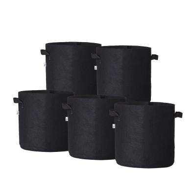3/5/7/10 Gallon Root Grow Pots felt plant bag grow bag
