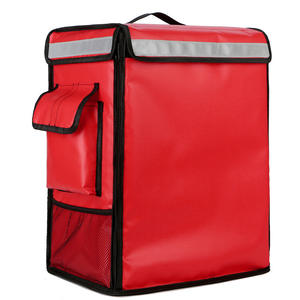 42L Factory Waterproof Large Cake Takeaway Box Freezer Backpack Fast Food Pizza Delivery Car Suitcase Bags Cooler Bags