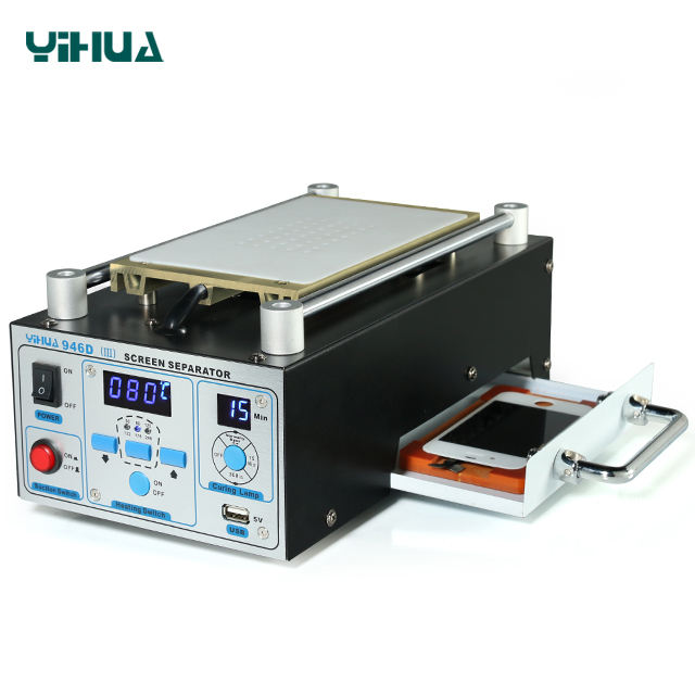 YIHUA 946D-III lcd touch screen glass separator macchina per la Riparazione di Spalato Vetro Touch Screen Digitizer