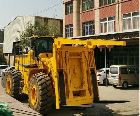 40tons Container rotary unloader container rotating unloader for coal sand
