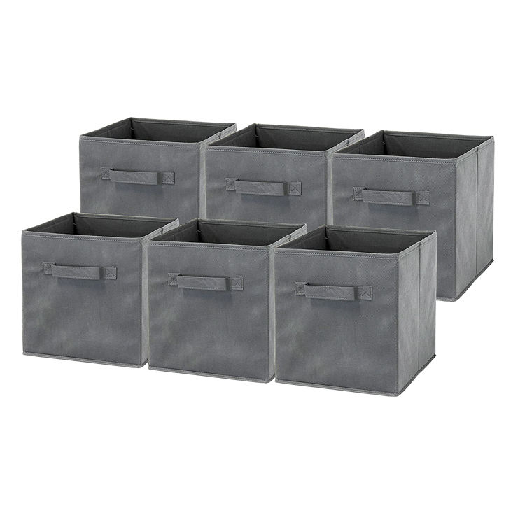 High Quality Collapsible Cube Bins Non Woven Fabric Storage Box