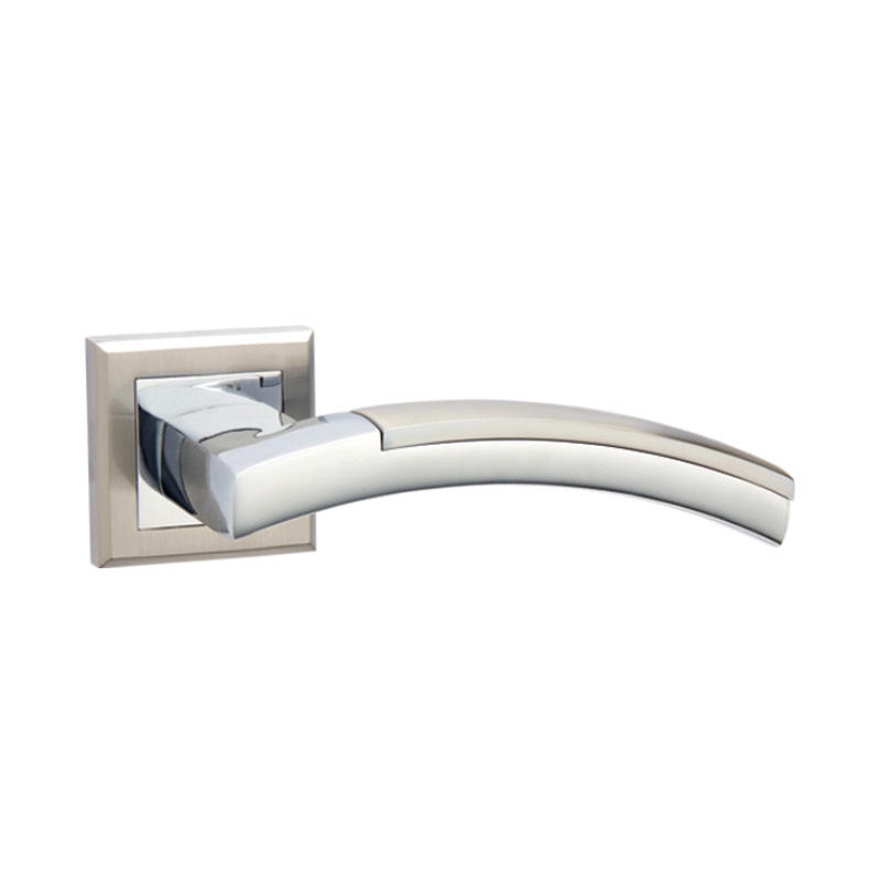 Aluminum interior door lever handle