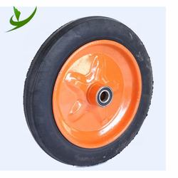 Cheap Price solid rubber wheel tire 4.10 3.50 4 for wheelbar