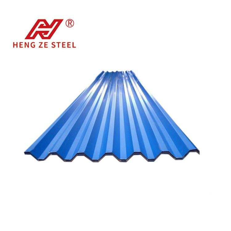 Hot sale factory direct corrugated aluminum roofing sheet ASA galvanized metal coated UPVC PPGI 4x8 steel with 100% safety