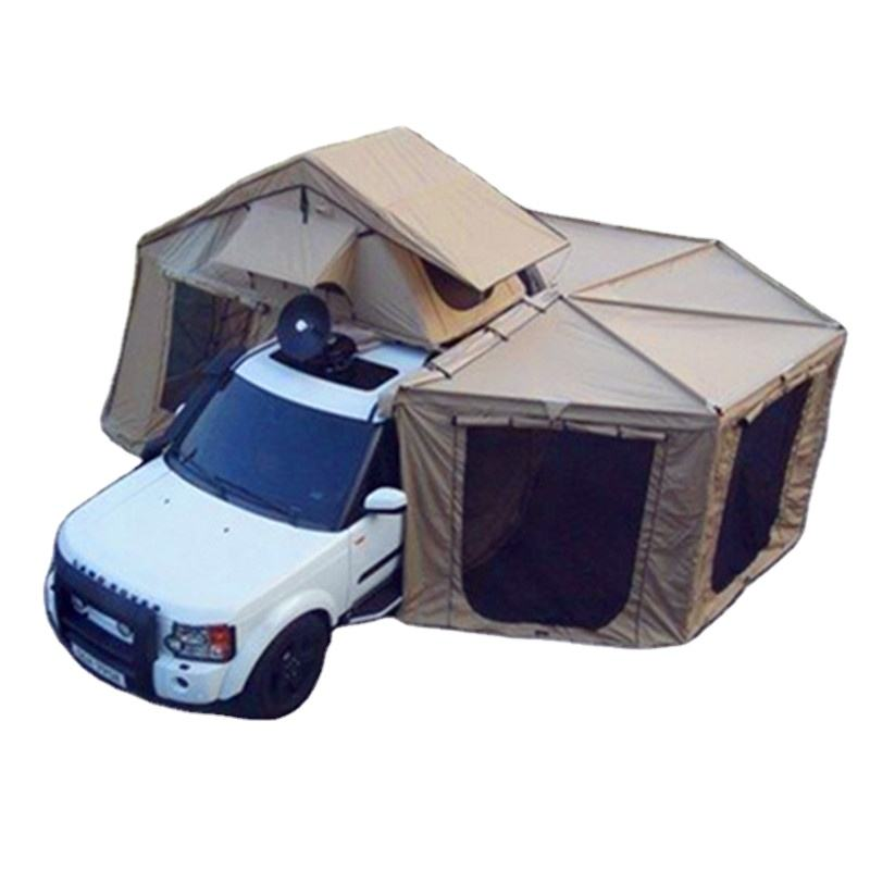 4WD camping <span class=keywords><strong>tente</strong></span> <span class=keywords><strong>de</strong></span> <span class=keywords><strong>toit</strong></span> avec annexe 4x4 tissu 3-4 personnes aventure hors route voyage <span class=keywords><strong>tente</strong></span> <span class=keywords><strong>de</strong></span> <span class=keywords><strong>toit</strong></span> avec vestiaire