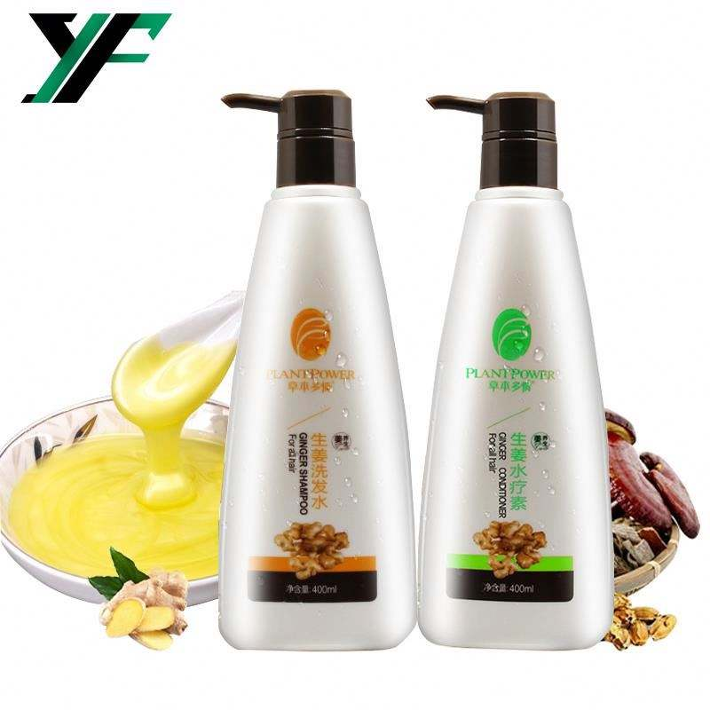 7 Day Fast Hair Growth Ginger Shampoo Anti Hair Loss No Side Effect Wholesale Factory Price