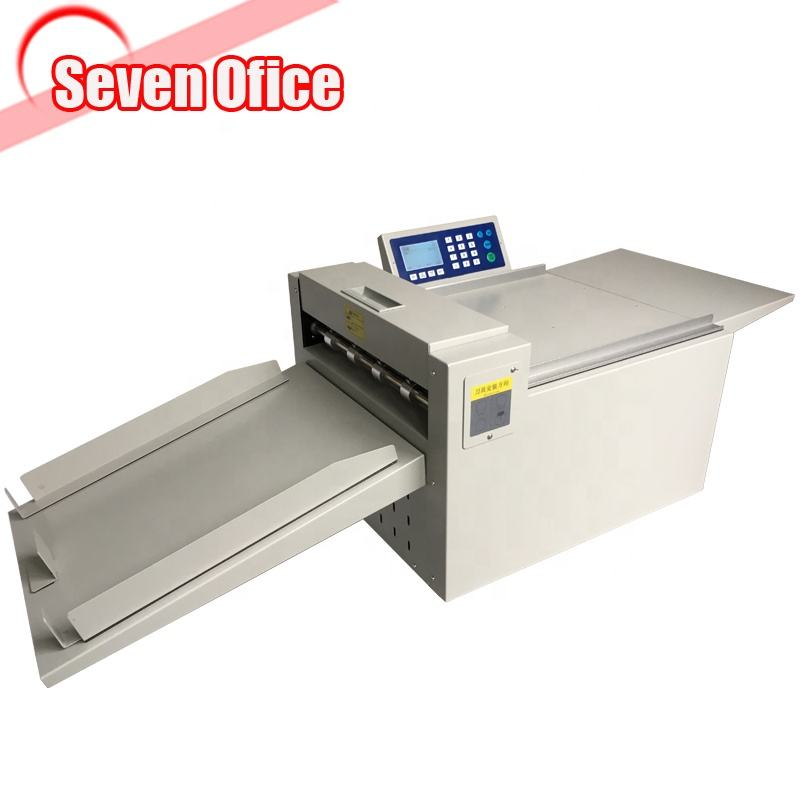 A3 Digital creasing machine / Electric creasing and perforating machine with LCD screen /digital creaser for print shop