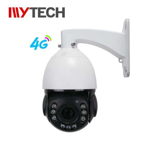 2020 Project 4G cctv ptz camera sim card max 128G SD card playback in the APP