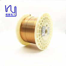 UEW Class 220 4.0mm * 0.40mm Rectangular Enameled Copper Wire Flat Magnet Winding Wire