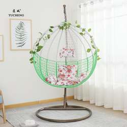 Hanging basket cane chair adult hanging chair double family hammock indoor Cradle Swing balcony bird's nest hanging basket
